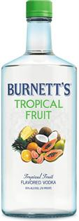 Burnett's Vodka Tropical Fruit 750ml - Case of 12